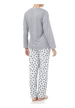 Pijama-Longo-Feminino-Cinza