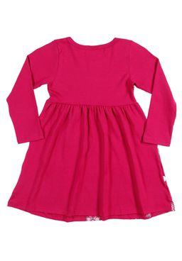 Vestido-Disney-Infantil-Para-Menina---Rosa