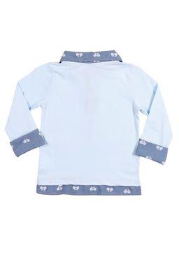 Polo-Manga-Longa-Infantil-Para-Menino---Azul