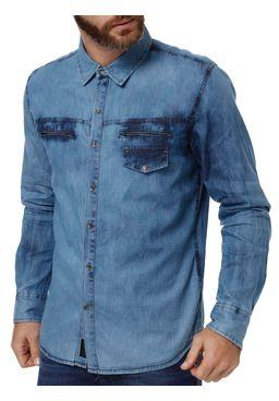 Camisa-Manga-Longa-Masculino-Dixie-Azul