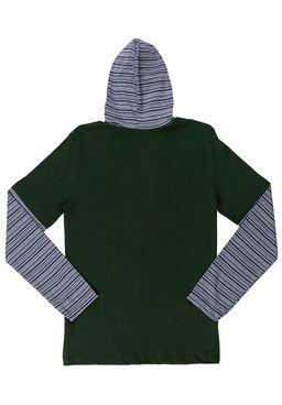 Camiseta-Manga-Longa-Juvenil-Para-Menino---Verde