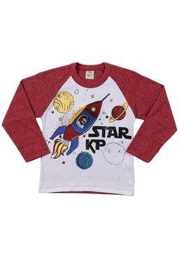 Camiseta-Manga-Longa-Infantil-Para-Menino---Vinho