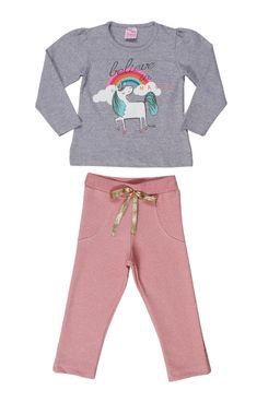 Conjunto-Infantil-Para-Menina---Cinza-rosa