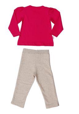 Conjunto-Infantil-Para-Menina---Bege-rosa