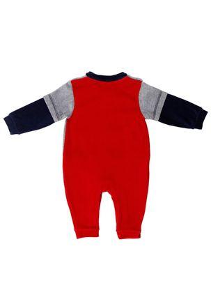 Macacao-Manga-Longa-Infantil-Para-Bebe-Menino---Cinza-vermelho