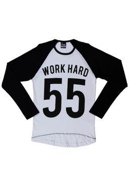 Camiseta-Manga-Longa-Juvenil-Para-Menino---Branco-preto