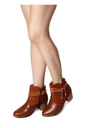 Bota-Feminina-Comfortflex-Ankle-Boot-Marrom