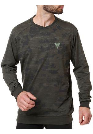 Camiseta-Manga-Longa-Masculina-Dixie-Verde