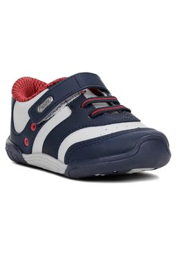Tenis-Infantil-Kidy-Para-Bebe-Menino---Azul-marinho-cinza