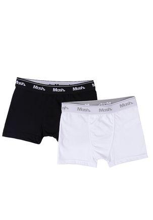 Kit-com-02-Cuecas-Juvenil-Para-Menino---Preto-branco
