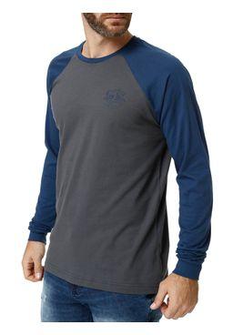 Camiseta-Manga-Longa-Masculina-Cinza-azul