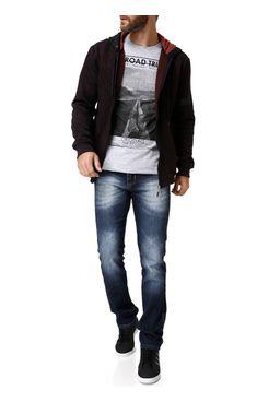 Camiseta-Manga-Curta-Masculina-Cinza-claro