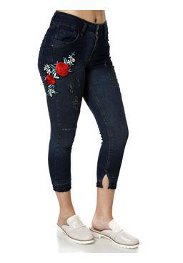 Calca-Jeans-Feminina-Uber-Bordado-Azul