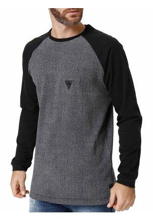 Camiseta-Manga-Longa-Masculina-Dixie-Preto