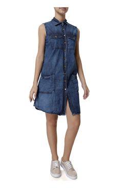 Vestido-Jeans-Curto-Feminino-Uber-Azul