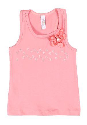 Blusa-Regata-Infantil-Para-Menina---Coral