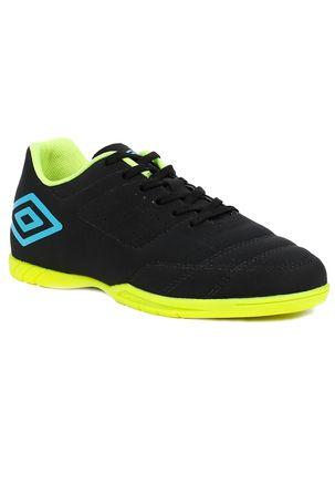 Tenis-Futsal-Masculino-Umbro-Sala-Nbk-Indoor-Preto-verde