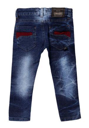 Calca-Jeans-Infantil-Para-Menino---Azul