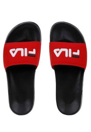 Chinelo-Slide-Masculino-Fila-Preto-vermelho