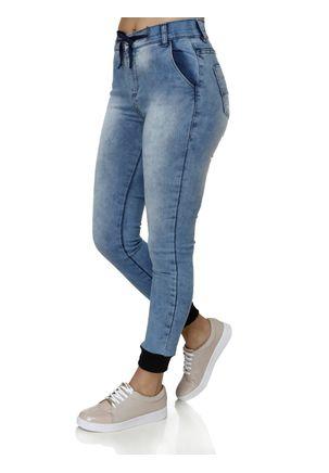 Calca-Jeans-Feminina-Jogger-Azul