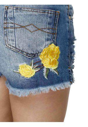 Short-Jeans-Feminino-Uber-Bordado-Azul