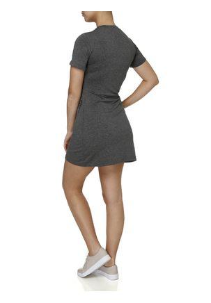 Vestido-Curto-Feminino-Cinza