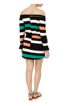 Vestido-Curto-Feminino-Multicolorido