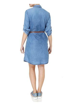 Vestido-Curto-Feminino-Jeans-Azul