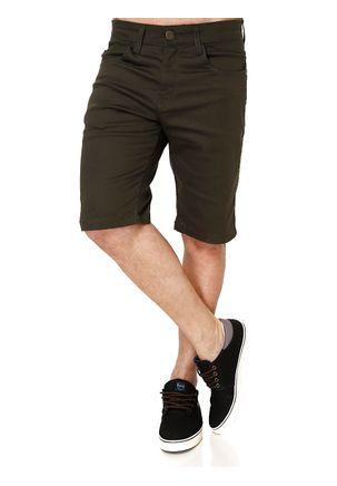 Bermuda-Jeans-Masculina-Verde