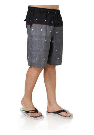 Bermuda-Jeans-Masculina-Federal-Art-Preto