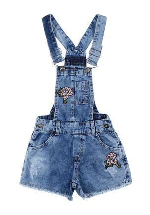 Macacao-Jeans-Bordado-Infantil-Para-Menina---Azul