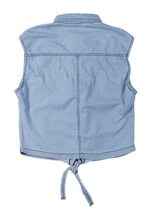 Camisa-Jeans-Juvenil-Para-Menina---Azul
