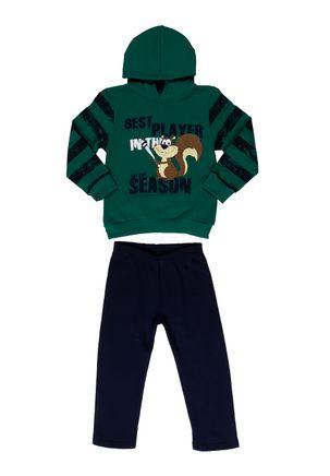 Conjunto-Infantil-para-Menino---Verde-azul-marinho