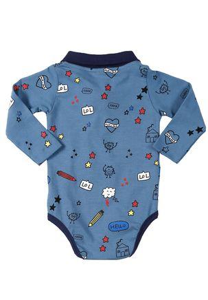 Body-Infantil-Para-Bebe-Menino---Azul