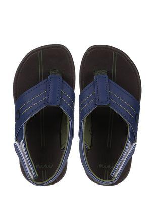 Chinelo-Cartago-Infantil-Para-Menino---Branco-azul