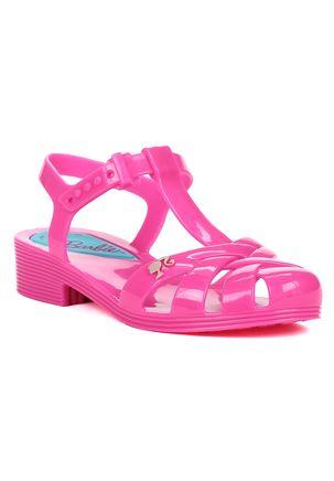 Sandalia-Infantil-Barbie-Festa-Na-Piscina-Para-Menina---Rosa