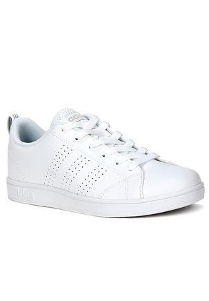 Tenis-Infantil-Adidas-Age-Clean-Para-Menina---Branco-cinza-branco