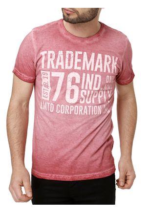 Camiseta-Manga-Curta-Masculina-Bordo