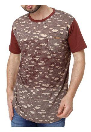 Camiseta-Manga-Curta-Masculina-Dixie-Vinho