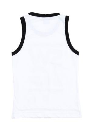 Camiseta-Regata-Infantil-Para-Menino---Branco