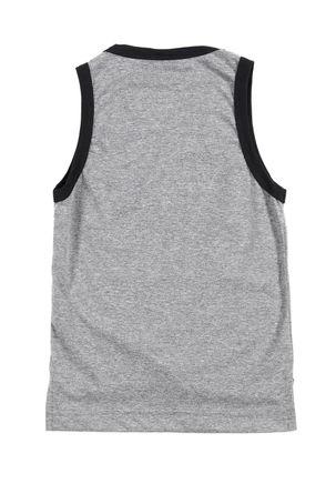 Camiseta-Regata-Infantil-Para-Menino---Cinza