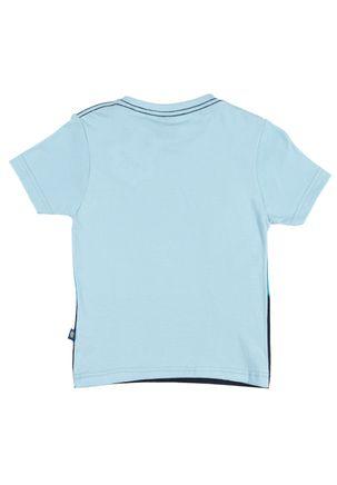 Camiseta-Manga-Curta-Infantil-para-Menino---Azul-claro