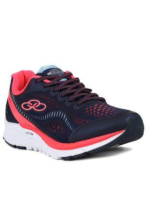 Tenis-Esportivo-Feminino-Olympikus-Challenger-Running-Azul-marinho-rosa