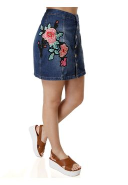 Saia-Jeans-Feminina-Uber-Azul-