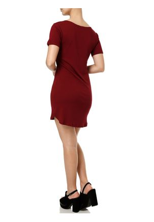 Vestido-Curto-Feminino-Vinho