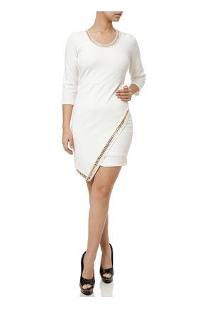 Vestido-Curto-Feminino-Autentique-Off-white-