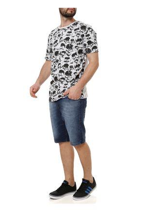 Camiseta-Manga-Curta-Masculina-Local-Cinza-claro