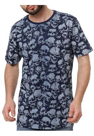 Camiseta-Manga-Curta-Masculina-Local-Azul-marinho