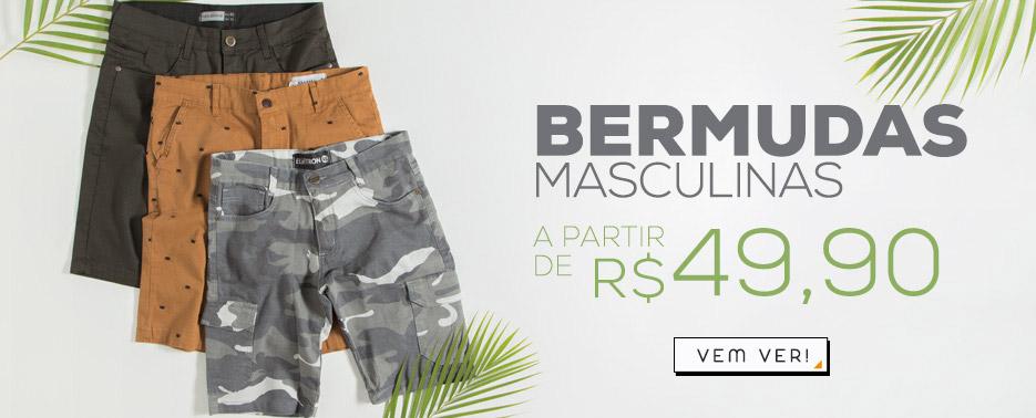 Bermudas masculinas