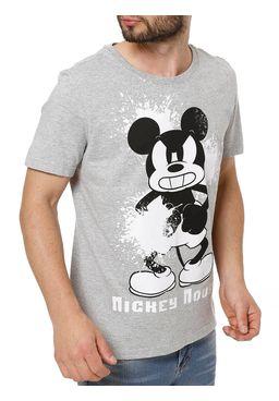 Camiseta-Manga-Curta-Masculina-Disney-Cinza